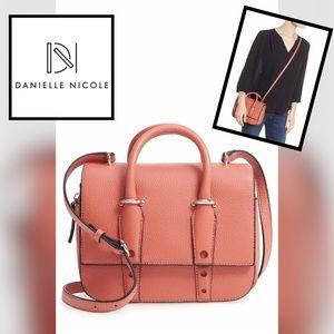 🆕DANIELLE NICOLE Kinsley Leather Crossbody Bag